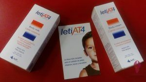Leti AT4 Body cream/milk